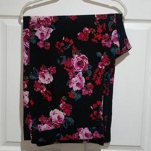 Lane Bryant Floral Pants